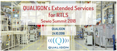 Picture of QUALIGON's presentation at Sewio Summit 2018