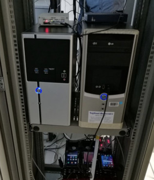 Image of LTE Testbed of IRAP project
